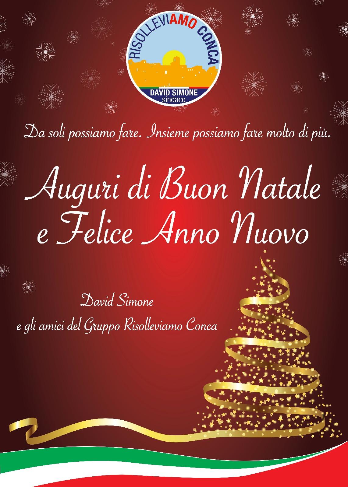 Auguri Di Buon Natale E Buon Anno.Auguri Di Buon Natale E Felice Anno Nuovo Risolleviamo Conca